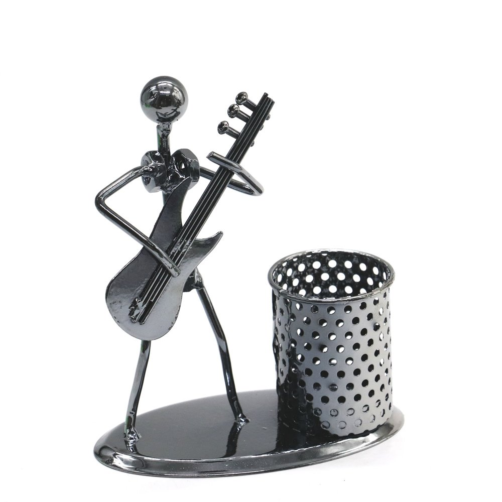 Metal Music Band Pen Holder