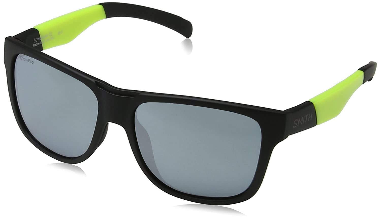 Smith Lowdown XL XB PGC 59 Gafas de sol, Negro (Black Yellow/Sl Silver), Hombre