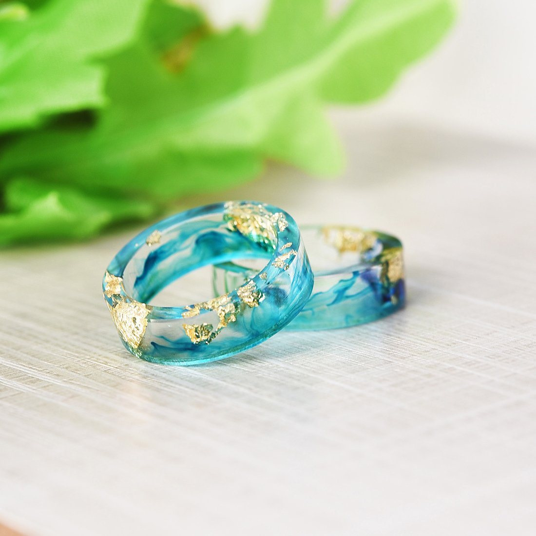 Amazon.com: JEWH 2018 HOT Flower Hand-Dried Ring - Best Mold Dried Flowers DIY Gift - Sweet Lovely Ring for Lady (10): Arts, Crafts & Sewing