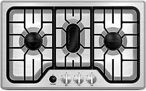 Furrion Lippert 423818 Stainless Steel Gas Cooktop