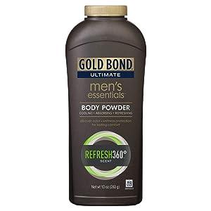 Gold Bond Ult Mens Ess Bd Size 10 Oz Gold Bond Ultimate Men'S Essentials Body Powder 10oz