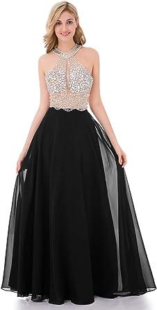 Anaisy Sukienka dla druhny, wysokiej jakości suknia wieczorowa w stylu syrenki, z okrągłym dekoltem, bez rękawÓw, elegancka sukienka wieczorowa w stylu vintage, Slim - xxl: Odzież