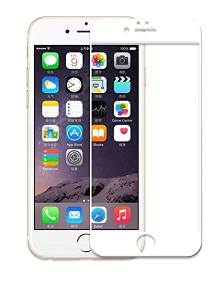 591f469559f VEVICE Protector de pantalla para iPhone 6 Plus 6S Plus, borde curvado 5D,  cristal