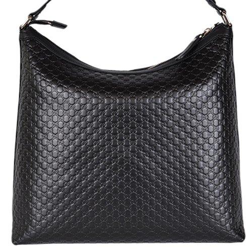 Gucci Women's Micro GG Guccissima Leather Hobo Handbag (Gucci Hobo Purse)