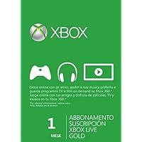 Xbox LIVE Gold 1-Month Membership Card (Xbox 360)
