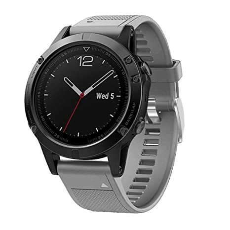 Correa de silicona suave para reloj deportivo Garmin Forerunner 935 GPS, 22mm de