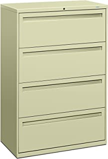 product image for HON 784LL 700 Series 36 by 19-1/4-Inch 4-Drawer Lateral File, Putty
