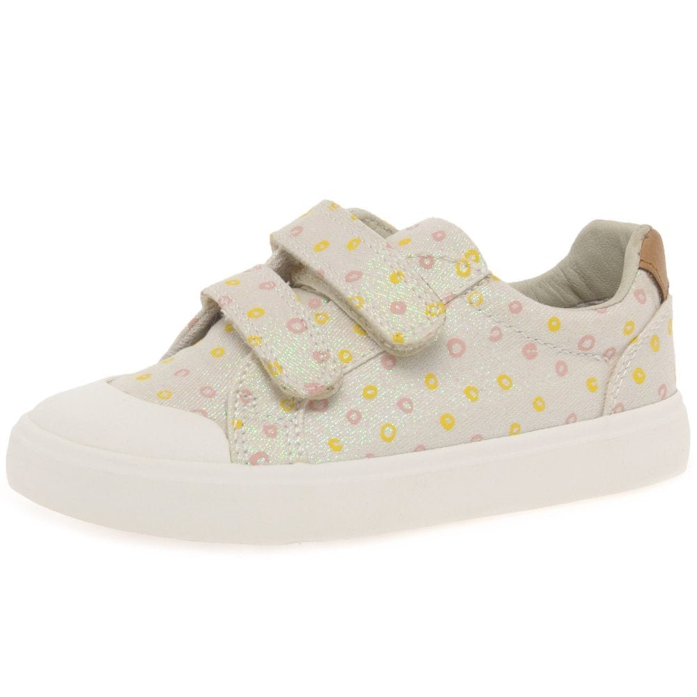 Clarks Comic Cool, Sneakers Basses Fille