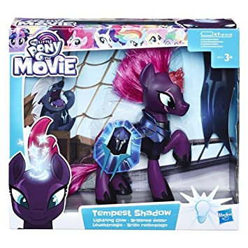 Hasbro My Little Pony E2514eu4 Toys Movie Leuchtmagie Tempest Shadow