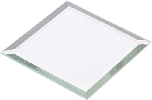 Plymor Square 3mm Beveled Glass Mirror, 2.5 inch x 2.5 inch Pack of 24
