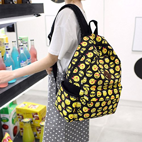 A Canvas Large Men Bag Boys Girls Children Unisex Lafeni Backpack Women 7Hnq44v