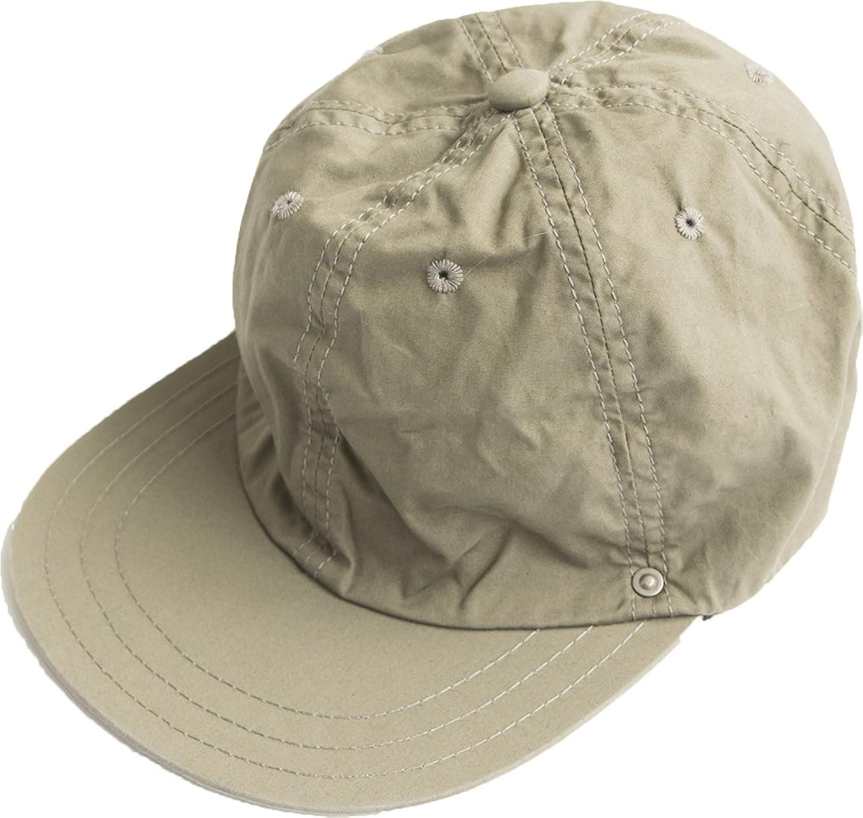 [d-12] DECHO(デコー) UTILITY CAP-VENTILE-(ユーティリティ キャップ ベンタイル) B07CH6YDF1  ベージュ Free