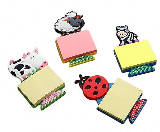 4 piezas divertidas de dibujos animados de la vaca de PVC de goma ...