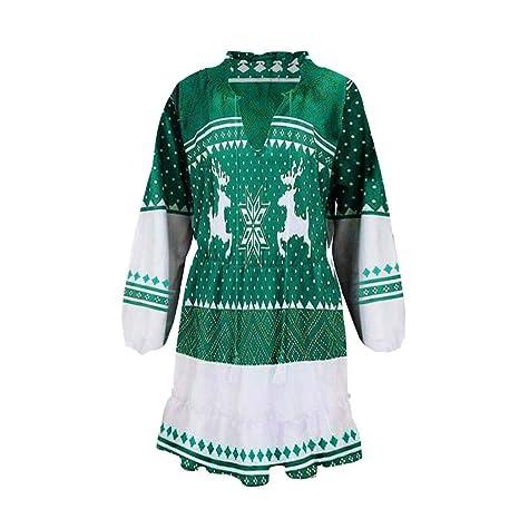 ALIKEEY_dress Alikeey - Vestido de otoño e Invierno para Mujer ...