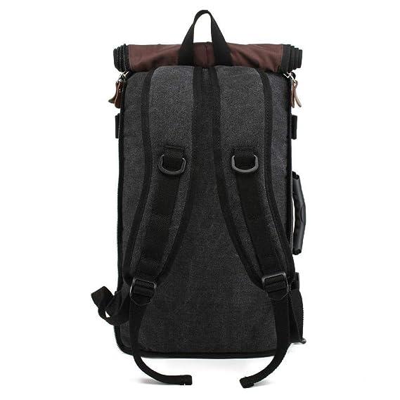 Amazon.com : Myzixuan Estilo de viaje de Gran capacidad Mochila Masculina hombro del equipaje ordenador Backpacking Hombre funcional bolsos versátiles ...