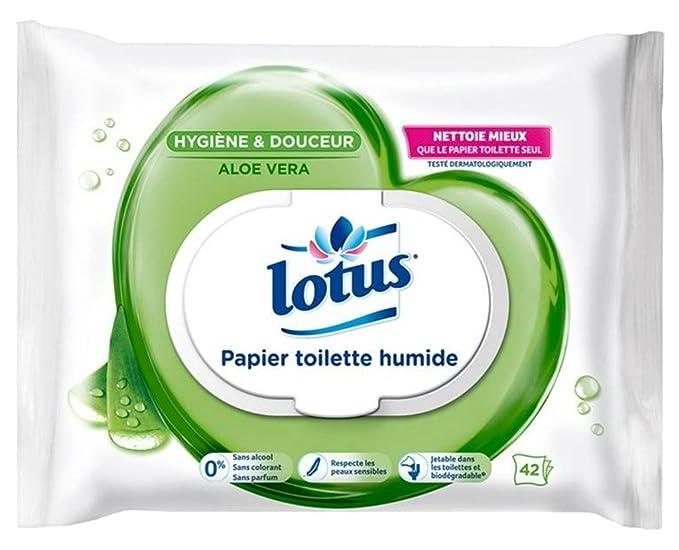 Lotus Hygiène Lotus Papel Higiénico Húmedo