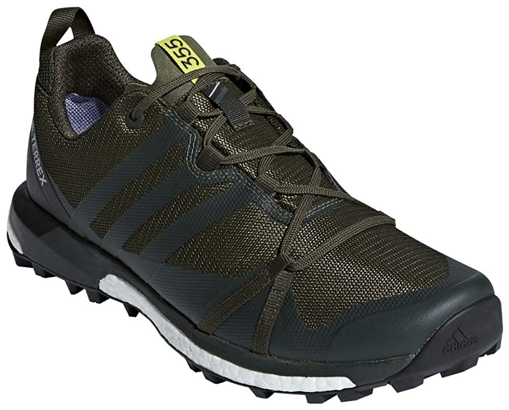 adidas outdoor Men's Terrex Agravic GTX Base Green/Base Green/Shock Yellow  6 D US