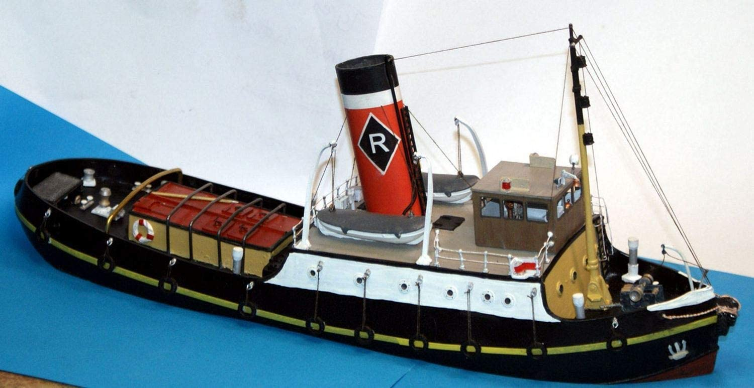 4598891254 Langley Models 96ft Estuary Steam Tug Boat OO Scale UNPAINTED Kit MB26 61nQU1kH0GL.SL1500_