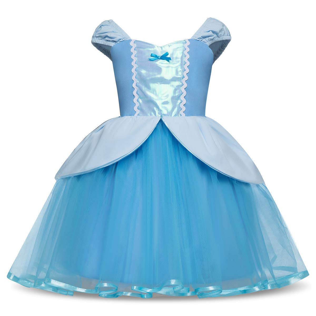 Toddler Baby Girls Princess Costume Dress Up for Birthday Party Christmas Beauty Pageant Dance and Daily Wear