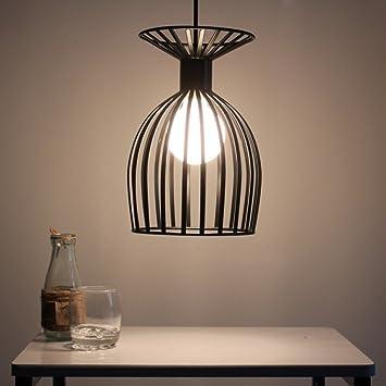Schmiedeeisen Lampen Für Die Amerikanische Weinlese Kreative Persönlichkeit  Lampen Mode Der Käfig Vogel