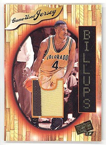 (1997 Press Pass Chauncey Billups Jersey #d 1/1 RC Rare College Rookie 2-clr Patch Basketball Card)