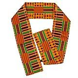 Beautiful Polyester Kente African Print Scarf