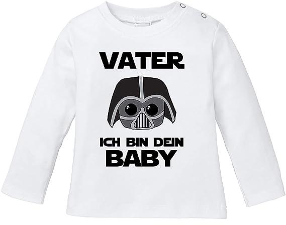 Baby Langarm T-Shirt Mama/'s und Papa/'s Schatz Babyshirt Spruch Bio Baumwolle