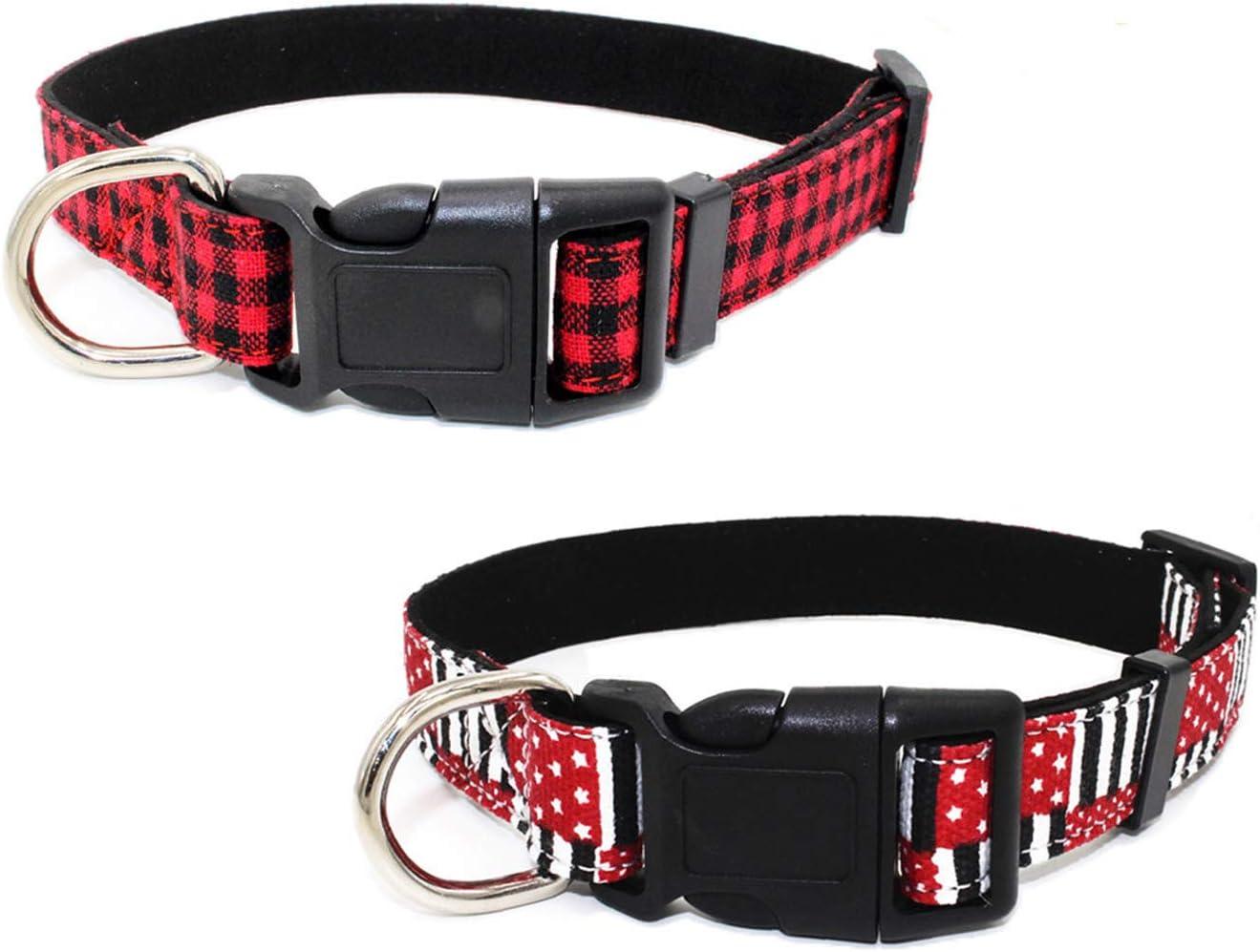 Newtensina Moda 2 Piezas Collar de Perro Set Suave Patrón de ...