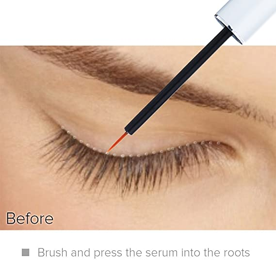 Amazing Lash Force Eyelash Growth Serum (8ml) by NYK1 Intense Growing Formula Lash and Brow Serum. The One That Really Works. Best Seller Rapid Grow Natural ...