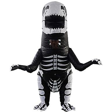 Amazon.com: Fityle - Traje hinchable con forma de dinosaurio ...