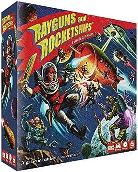 IDW Games IDW01080 Rayguns and Rocketships - Juego de Mesa (Contenido en alemán): Amazon.es: Juguetes y juegos