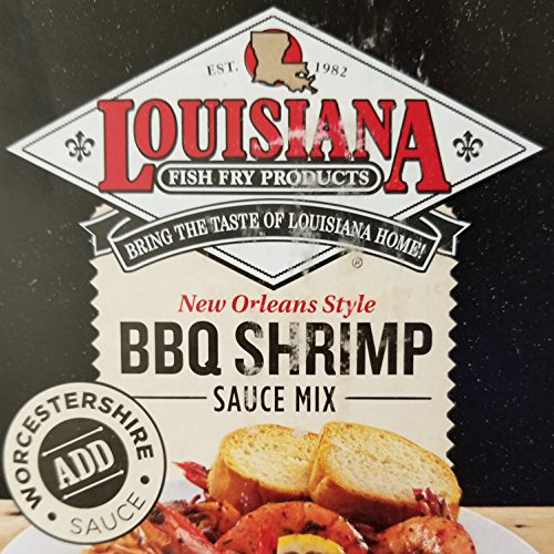 (Louisiana Fish Fry New Orleans Style BBQ Shrimp Sauce Mix 1lb Package )