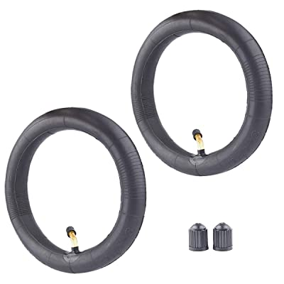 2 Pack of Inner Tube 200 x 45 Inner Tube 8 x 1 1/4 with Bent Stem for A-Bike Folding Bike Butyl Rubber: Automotive