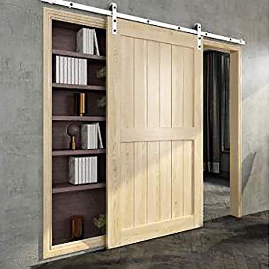 GWXFHT Schiebet/ürbeschlag Set 150-400cm Hufeisen Schiebet/ür Hardware Zubeh/ör Size : 150cm Single Door kit Innenk/üchen-T/ür-Fach-Scheunen-T/ür-h/ängende Schiene
