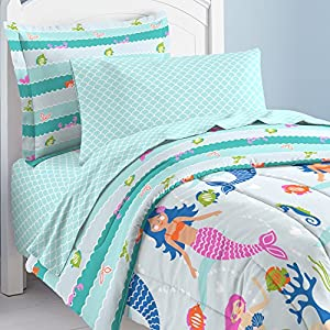 61nQc-JeqAL._SS300_ Mermaid Bedding Sets & Comforter Sets
