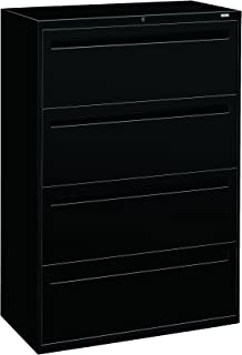 product image for HON 784LP 700 Series 36 by 19-1/4-Inch 4-Drawer Lateral File, Black