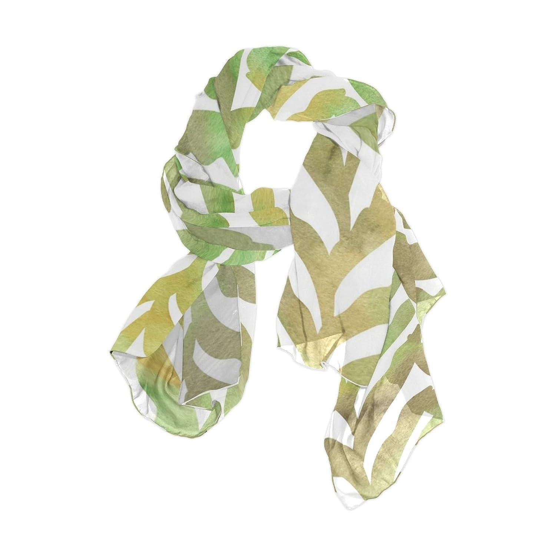 Senya Women's Fashion Large Long Sheer Silk Scarf Shawl Wrap, Watercolor Pattern