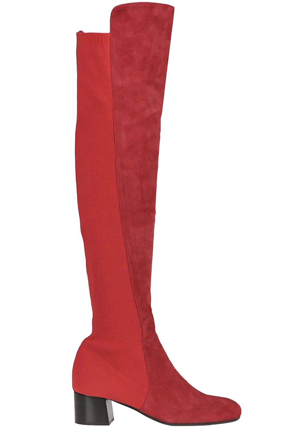 - MALÌPARMI Women's MCGLCAS000006045I Red Suede Boots