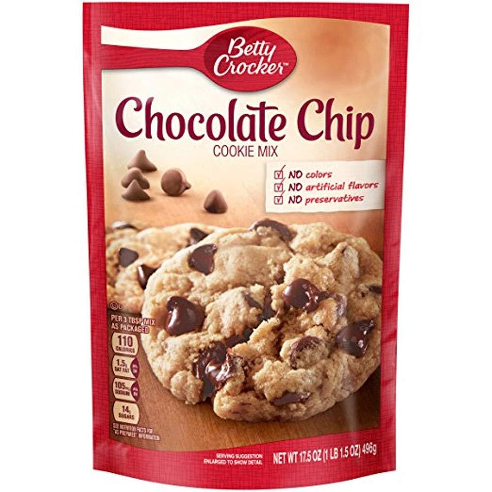 Cooky Mix Choc Chip 17.5 oz Pouch