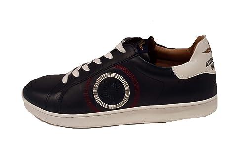 d339d88db5 Aeronautica Militare Scarpe Sneakers SC145PL100 Blu Navy, Uomo ...