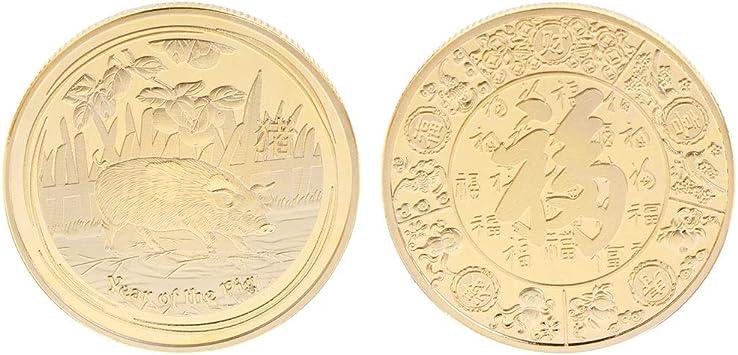 Fugift Moneda Conmemorativa del año 2019 Aniversario Colección ...