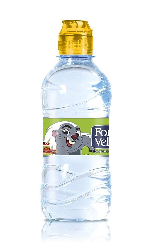 Font Vella Agua Mineral Natural con Tapón Infantil - Pack 6 x 33 cl: Amazon.es: Alimentación y bebidas