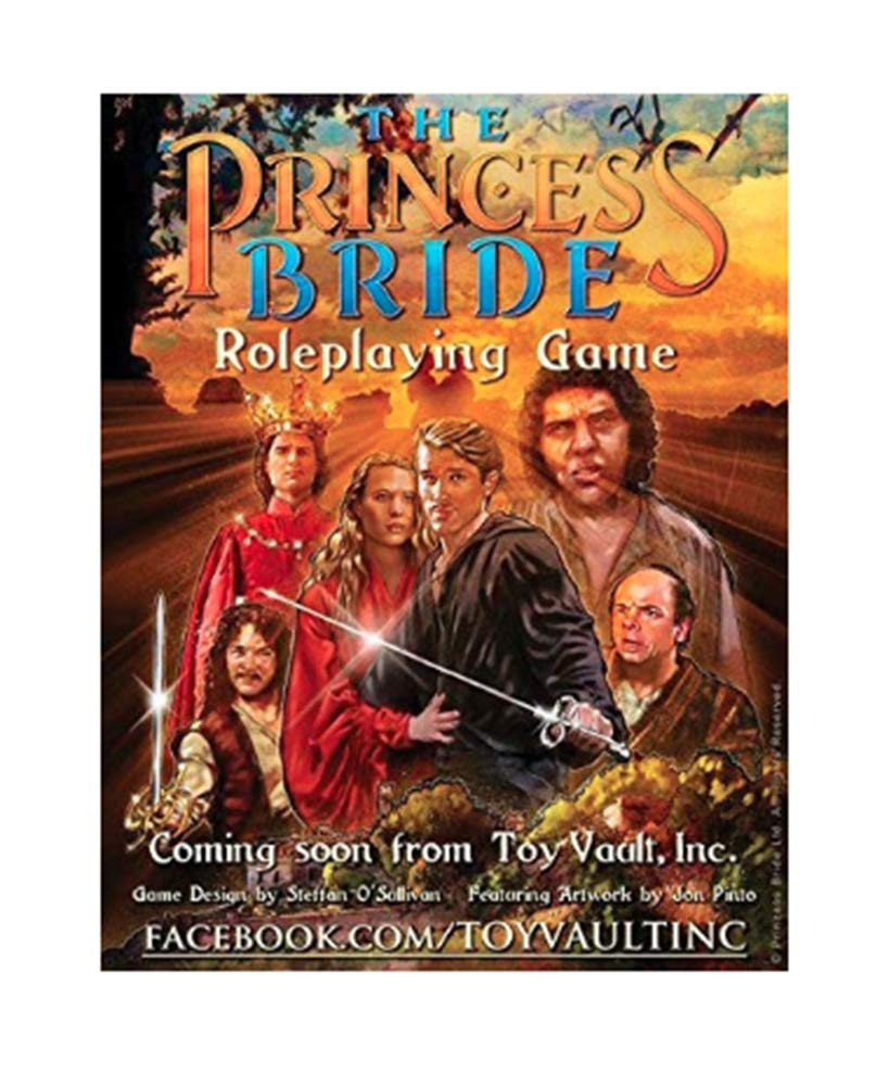 Toy Vault The Princess Bride Roleplaying Game