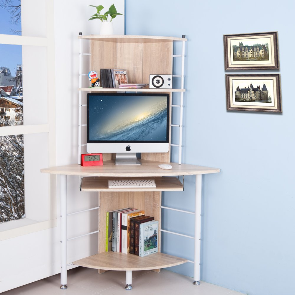 Compact Corner Desk Life Carver Home Office Furniture Pc Table Compact Corner Computer