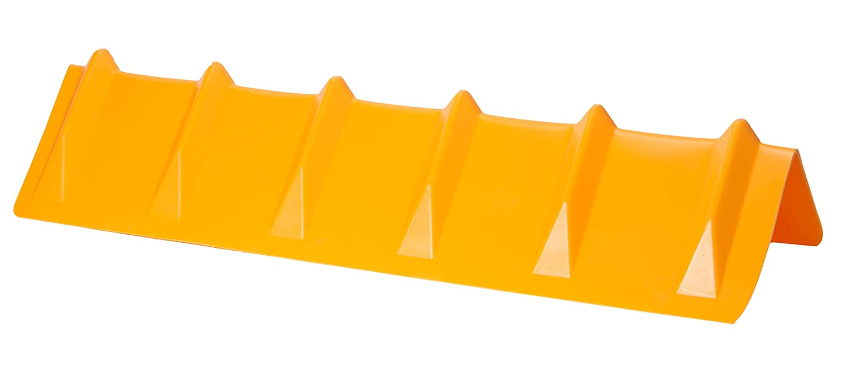 DC Cargo Mall Yellow Vee Board Trailer Cargo Load Corner Edge Protector and Truck Tie-Down Strap Guard Bumper Cushion, 8' x 8' x 36' 8 x 8 x 36