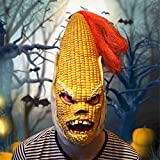 Kangkang@ Angry Old Corn Halloween Mask Headwear Decorations Party Supplies