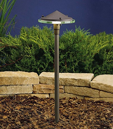 Kichler Textured Architectural Bronze Path Light in Florida - 6