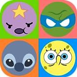 4 pics 1 cartoon kids app - Emoji Cartoon Quiz