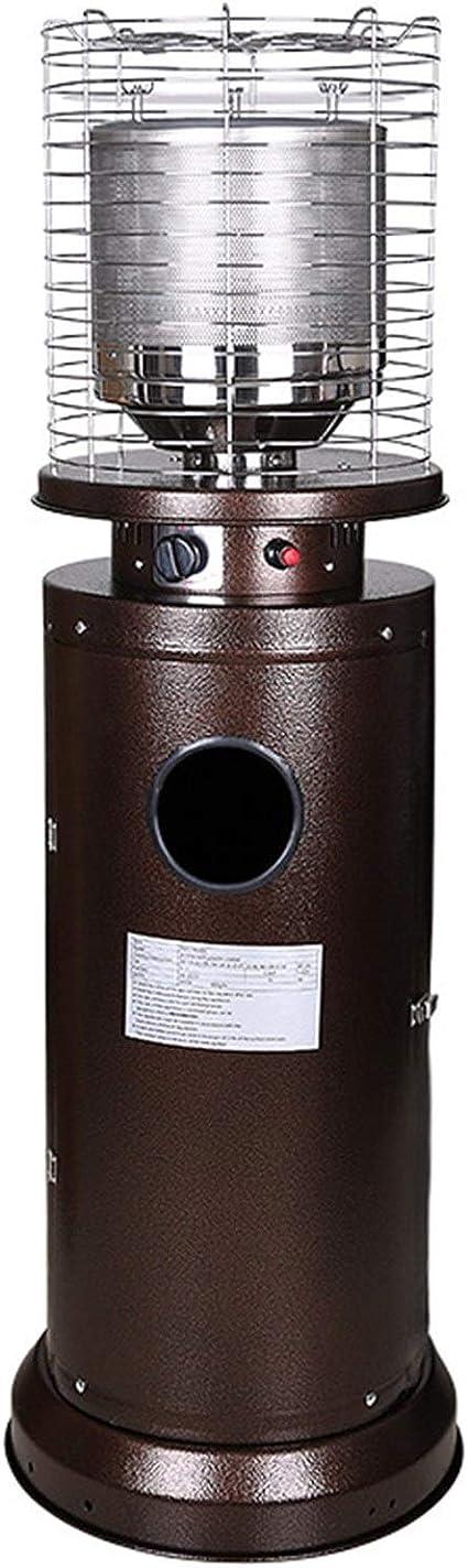 WJHCDDA Estufa De Gas para Exterior Metal Propano Calentador ...