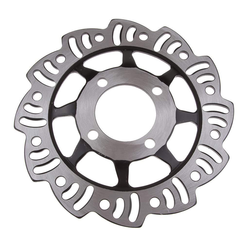 perfeclan Rotor de Disco Freno Trasero de 190 mm para 110cc 125cc 140cc Mini Dirt Pit Bike